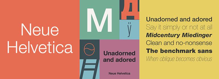 Шрифт Helvetica Neue Cyr скачать для Web или Photoshop