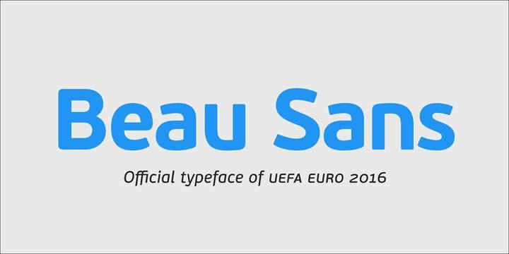 шрифт Pf Beau Sans Pro скачать для Web или Photoshop